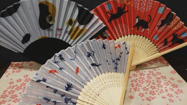 eventails japonais sensu